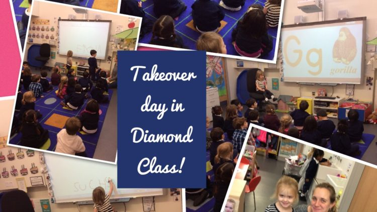 Take Over Day in Diamond Class