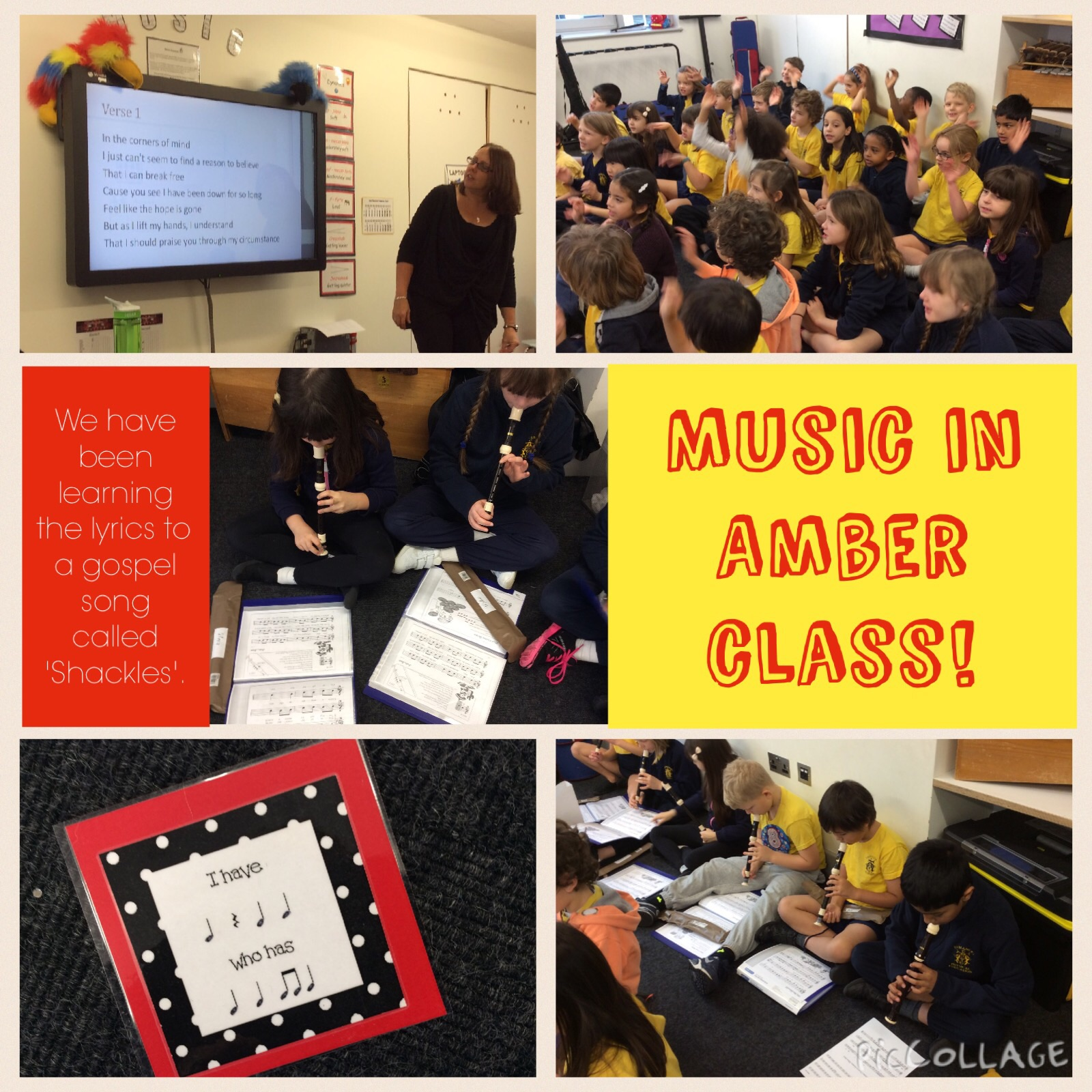 Music in Amber