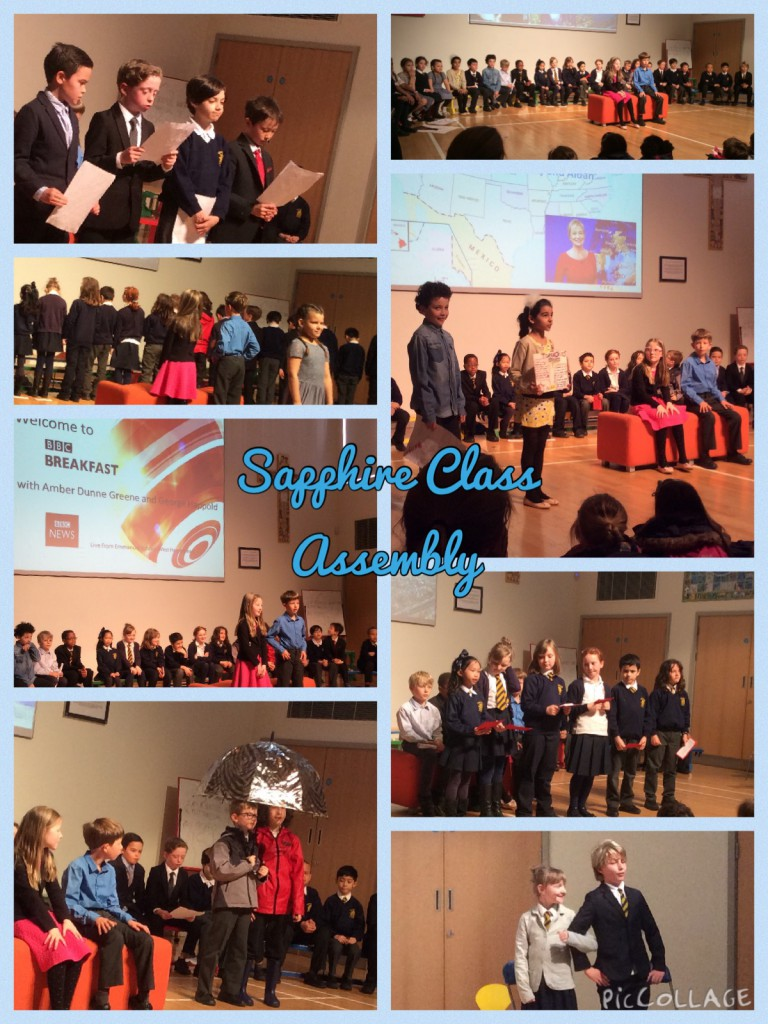 saphire class assembly pic collage