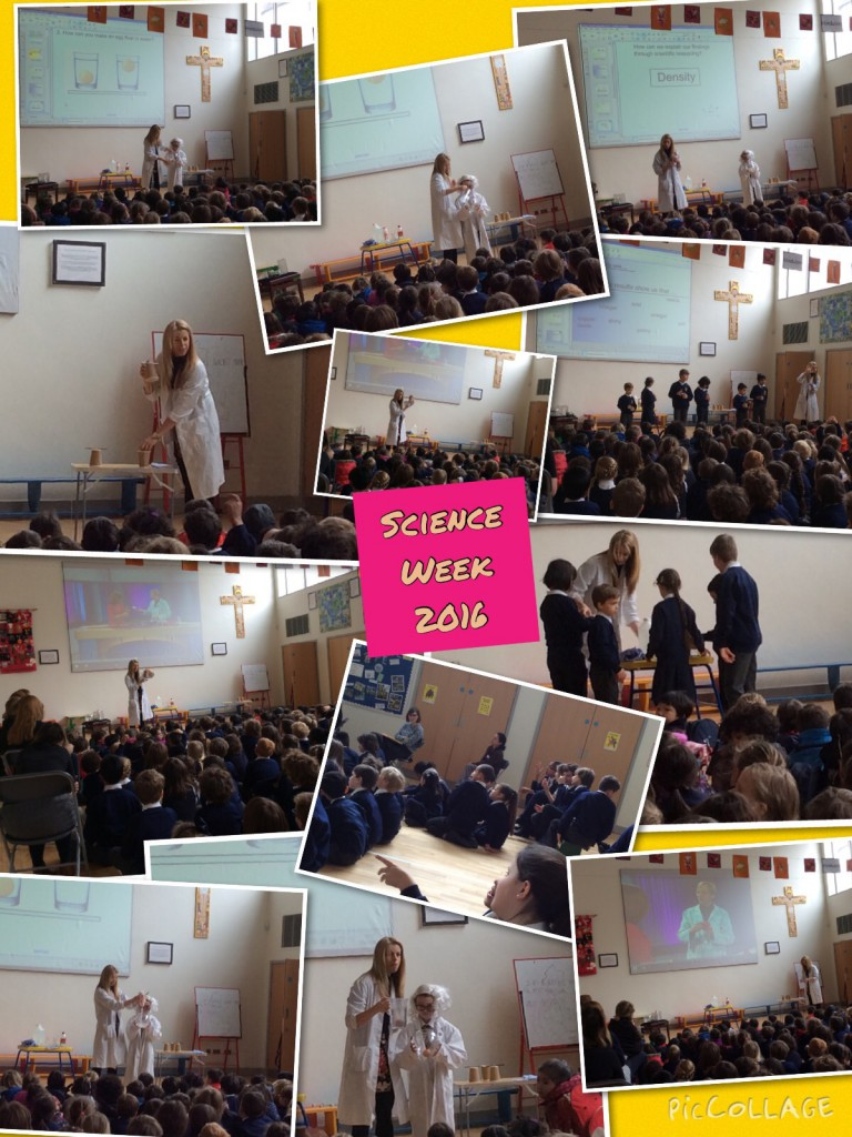 science week assembly