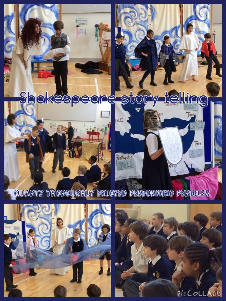 Shakespeare workshops in ks2