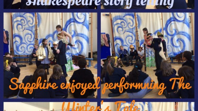 Celebrating Shakespeare in Sapphire Class
