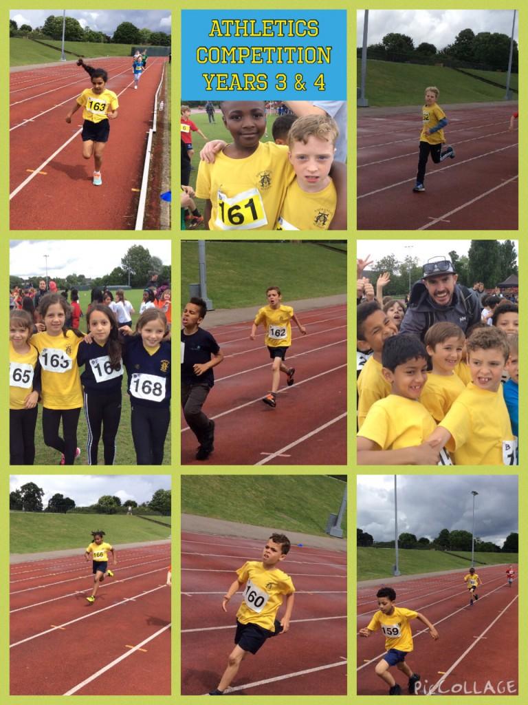 Year 3 & 4 Athletics