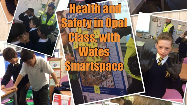 Opal Class learn how to keep safe on a building site!