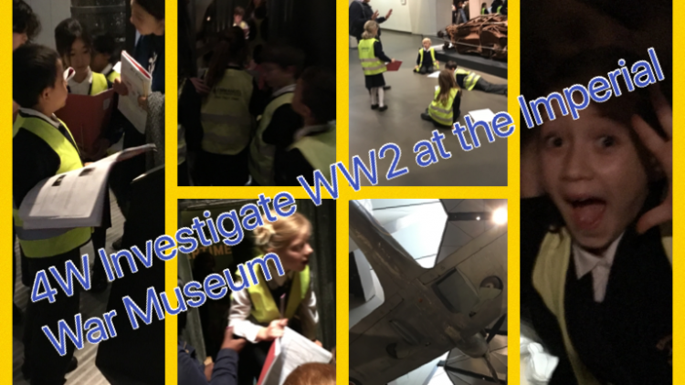 4W visit the Imperial War Museum