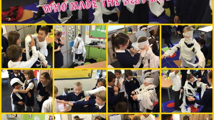 3B Making Mummies!