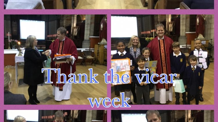 Thank Your Vicar week