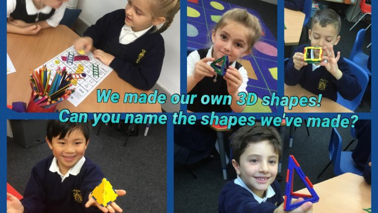 1T loved learning about 3D Shapes.