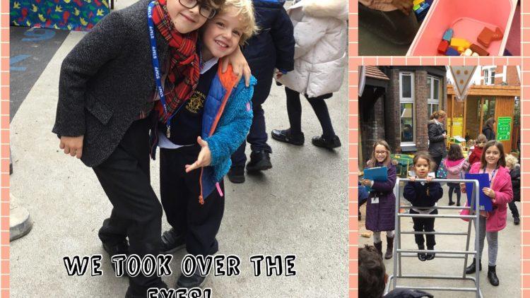 Taking over the EYFS for World's Children Day.