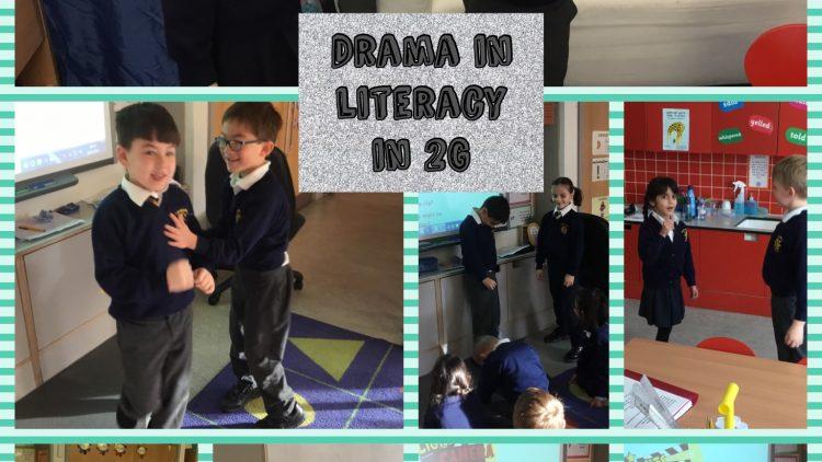 Drama in Literacy in 2G