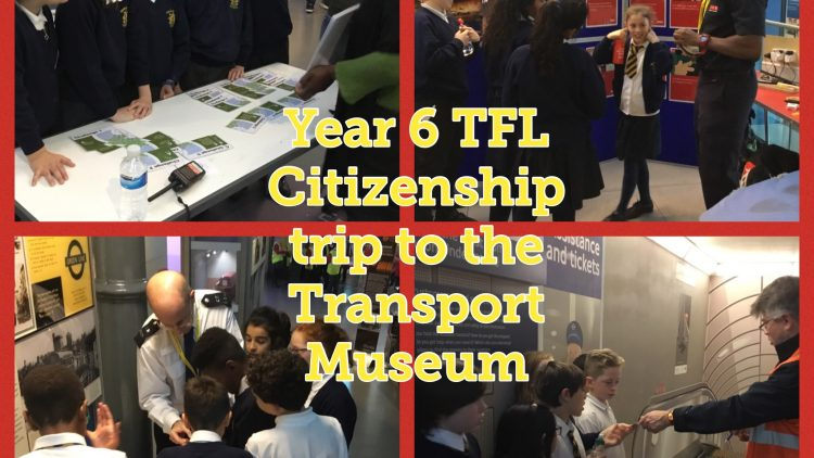 YEAR 6 TFL Citizenship Workshop