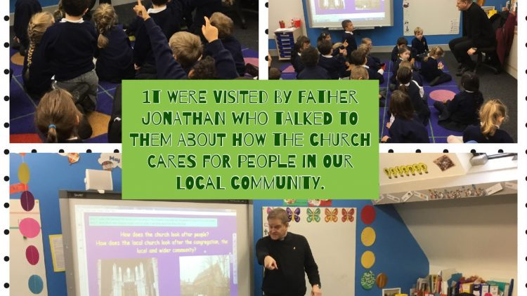 1T had a visit from Father Jonathan!