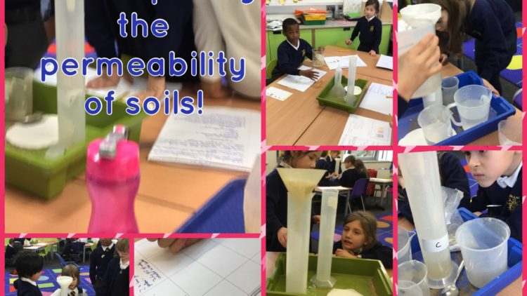 3B Comparing the permeability of different soils