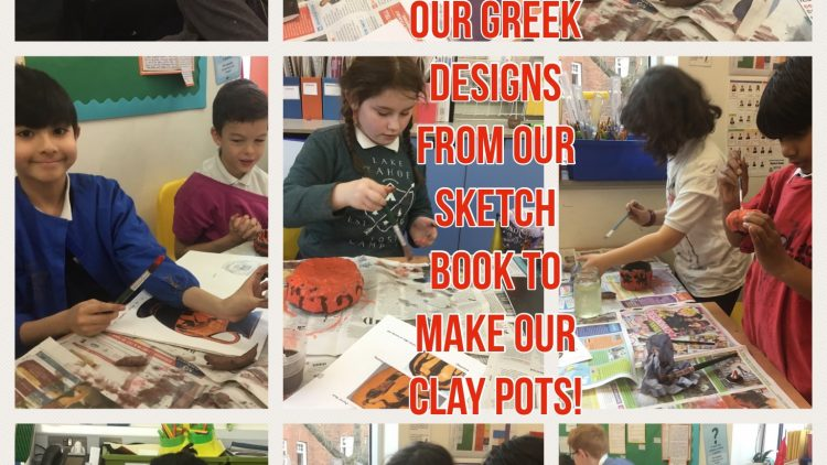 Greek Inspired Clay Pots in 4W