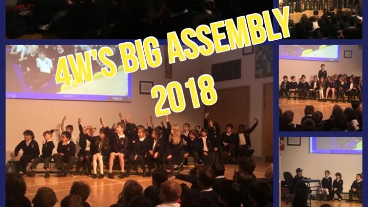 4W's 'BIG' class assembly!