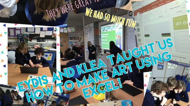 5Mc learn a thing or two from Eydis and Klea.