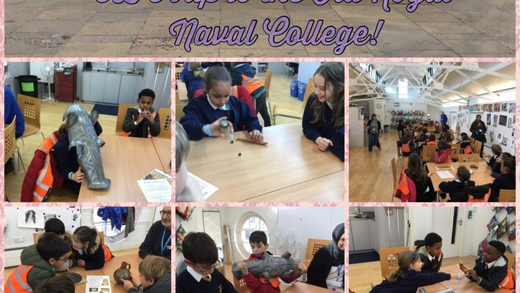 3B's trip to the Old Royal Naval College