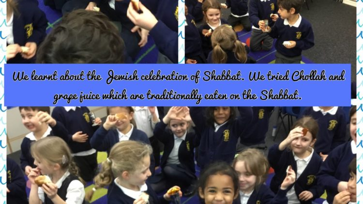 1T's RE learning about Judaism.