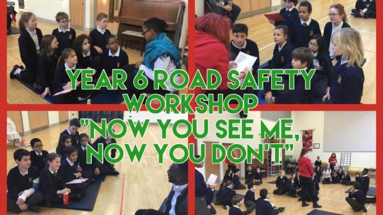 Year 6 Road Safety Workshop