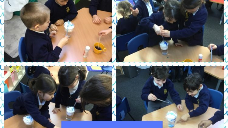 1T are little scientists in the making!