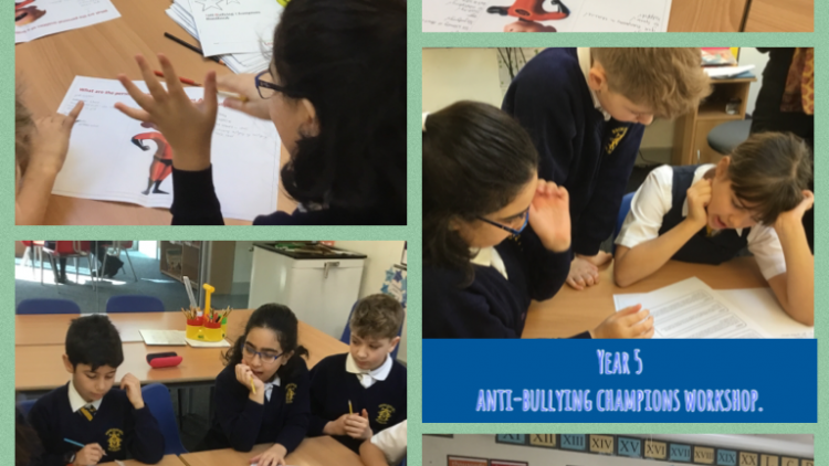 Introducing our Year 5 Anti- Bullying Champions!