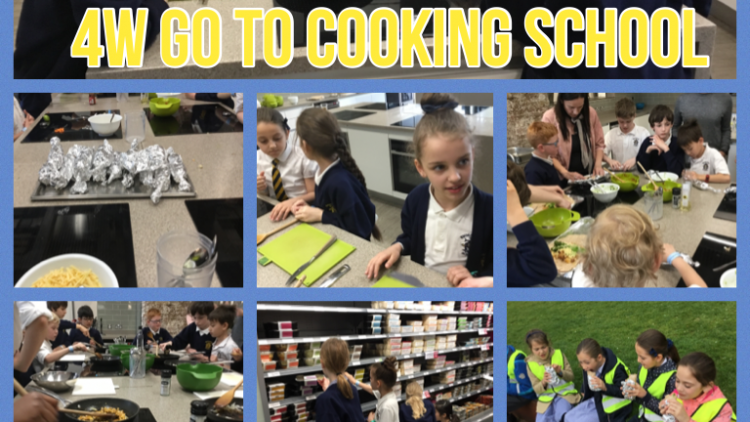 4W become chefs!
