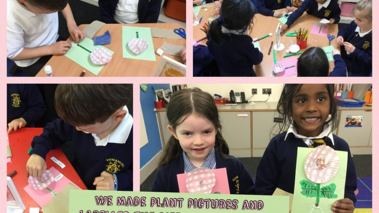 1T are really enjoying their new Science topic 'Plants'.