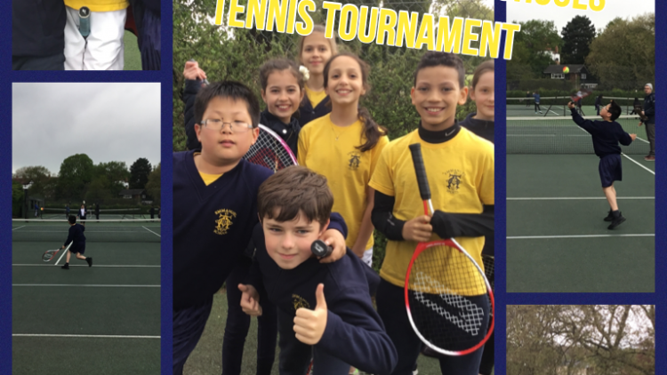 Y5/6 Emmanuel tennis team come 3rd place at Camden schools tournament