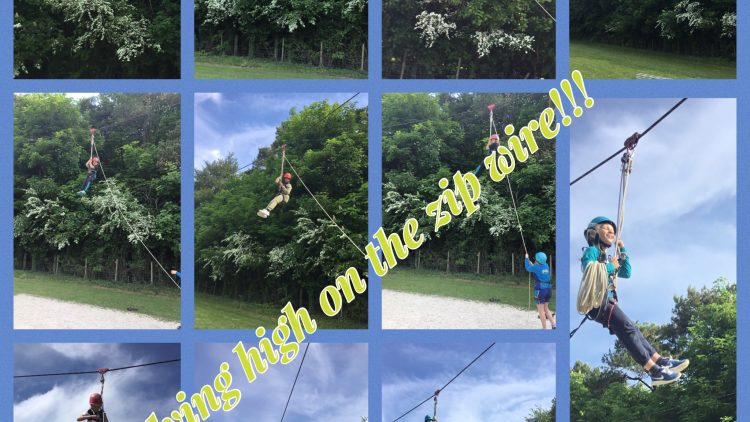 The Zip Wire!