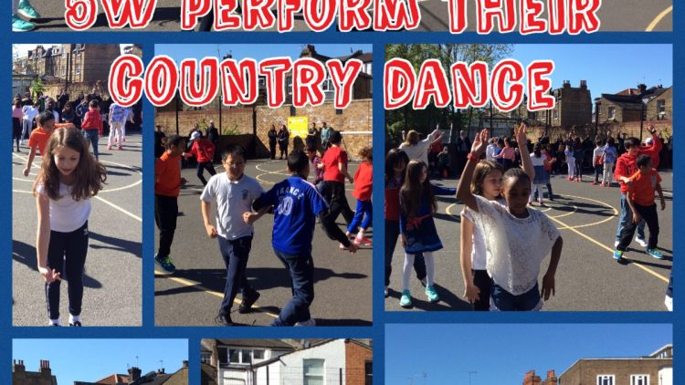 5W celebrate France in their country dance!