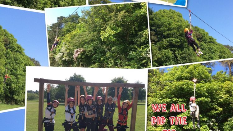 More zip wire!