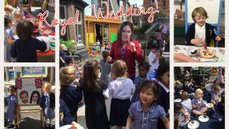 EYFS celebrate the Royal Wedding!