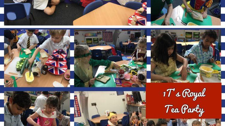 1T's Royal Tea Party!