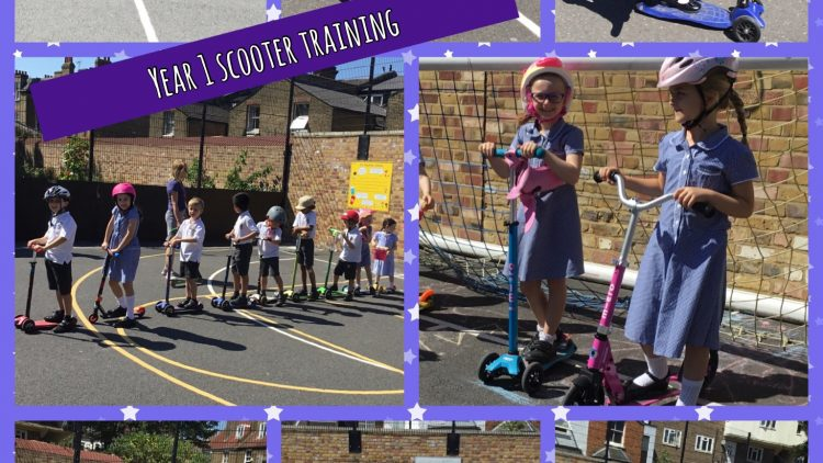 Year 1 Scooter Training