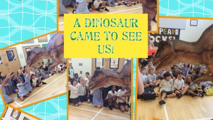 Dinosaur Visit!