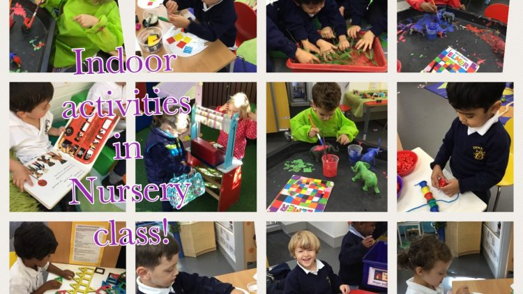 Learning is fun in Nursery Class!