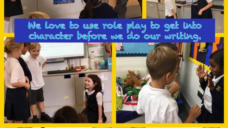 We love to get into character!