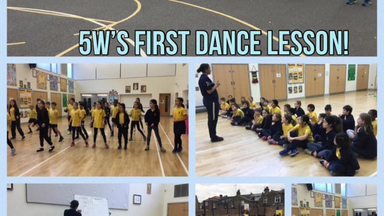 5W's first dance lesson!