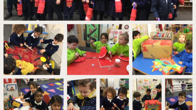 Nursery Class celebrate Chinese New Year!