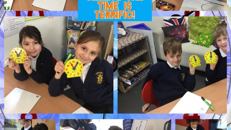2T tell the time!