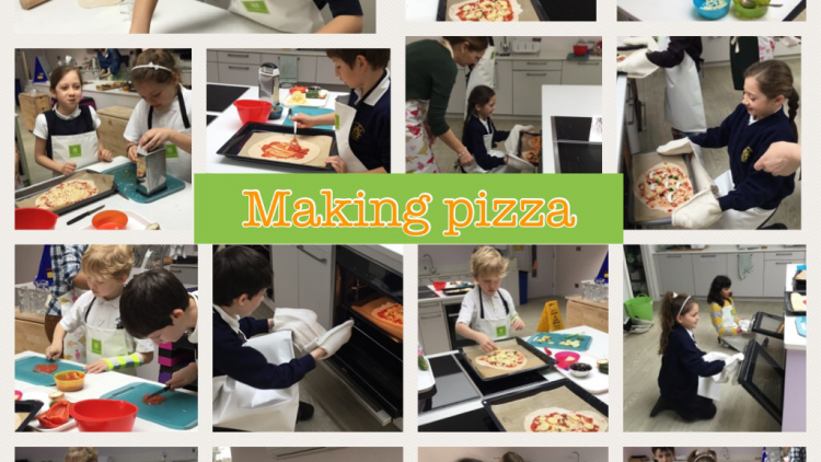 Making Pizza in Year 5 (Group 1)