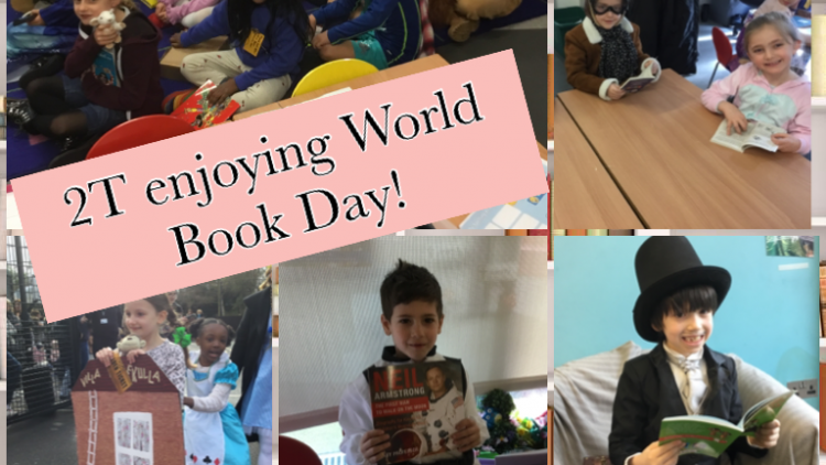 2T enjoying World Book Day!