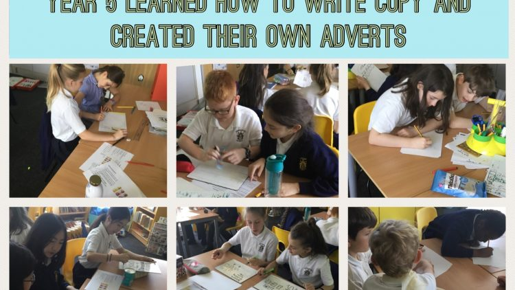 Learning how to write copy to create adverts!