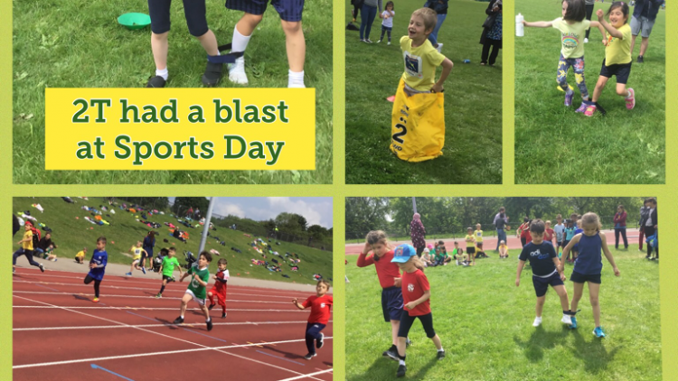 Sports Day with 2T