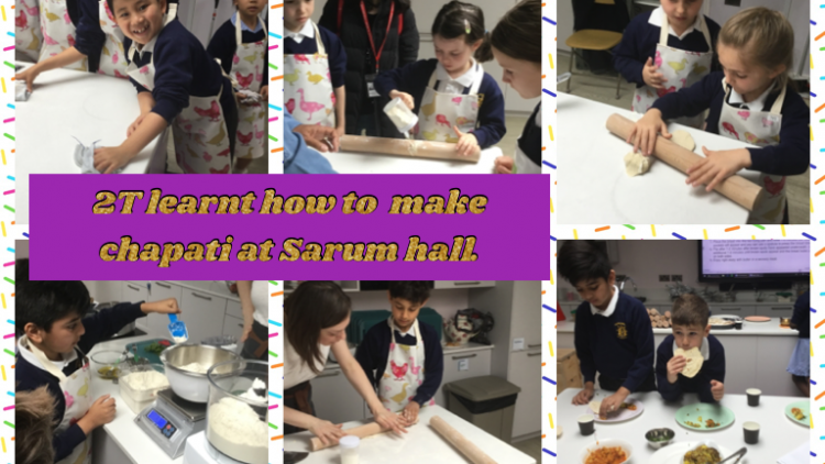 2T cook a traditional Indian dish!