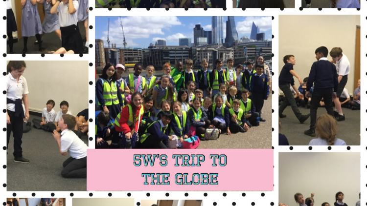 Year 5's Trip to the Globe Theatre