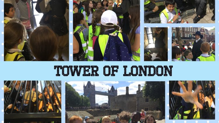 5W's Trip to the Tower of London