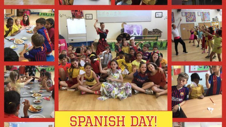 Spanish Day in Year 5!