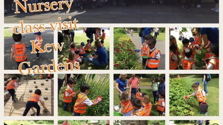 Nursery class visit Kew Gardens!