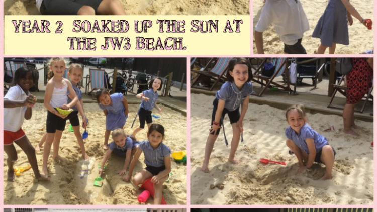 Year 2's trip to the JW3 Beach